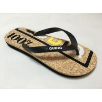 Buy cheap EVA slippers PVC strap EVA outsole wood grain insole mens EVA slippers from wholesalers