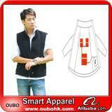 Buy cheap Apparel Fashion Waistcoat For Men Design with electric heating system heated clothing warm OUBOHK product
