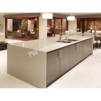 Buy cheap Modern design grey color Kitchen furniture with artificial marble stone(TPKT0036) from wholesalers