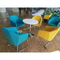 Buy cheap Modern design and colorful round tables and chairs for restaurant(TPDT153) from wholesalers