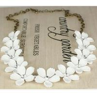 Buy cheap Energy-saving Fashion Camellia Short Chain Necklace Trade Clavicle from wholesalers