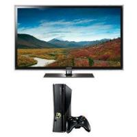 Samsung Series 6 55-inch UN55D6300 1080p LED HDTV with 4 GB Xbox 360 Console Bundle