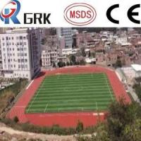 China Running Track Flooring / Rubberized Outdoor Flooring 8 Lines High School on sale