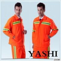 Buy cheap Uniform Hot Sell New Design Orange Safety Worksuit product