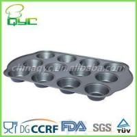 Buy cheap best non stick muffin pan Non-Stick Carbon Steel Twelve Hole Deep Muffin Baking Pan product