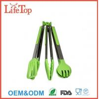 Buy cheap Silicone and Stainless Steel Flipper Tongs Salad Tong Food Tong product