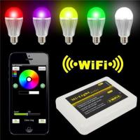 Buy cheap LED Panel Light Iphone IOS for Android Smart Phone + 9W RGBW LED Bulb product