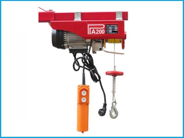 Electric Cable Hoist 110v : High quality kg mini electric hoist v for sale
