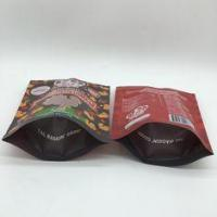 Buy cheap 40mm Bottom Guest Pet Food Bag Stand Up Pouches Pressure Resisitance product