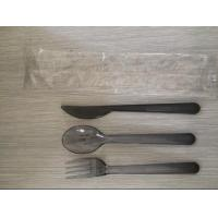 China Airline Disposable Plastic Cutlery Set, Made Of Plastic PS wholesale