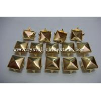 Buy cheap square pyramid studs with prong shank claw studs from wholesalers