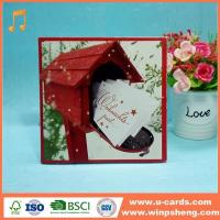 Buy cheap Handmade Card Wholesale Simple Decorative Merry Christmas Greeting Cards product