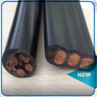 Buy cheap 4CORE FLAT CABLES FOR SUBMERSIBLE PUMPS (1100 VOLTS) product
