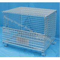 Wire Mesh Container with Top Cover