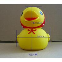 China Wholesale Promotional Plastic Duck Christmas Floating Baby Bath Duck Yellow Custom Rubber Duck on sale