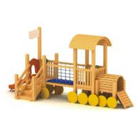 China wooden playground sets for backyards Wooden Playground-C on sale