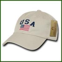 China US Flag Embroider Cap wholesale