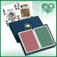China Queen 100% All Plastic Casino Quality Playing Cards - Poker Size (PAQ1444) on sale