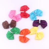Buy cheap Fancy Grosgrain Ribbon Bow Hairpins For Kids Hair Bows On Hairpins product