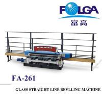 China High Quality Glass Straight Line Beveling Machine Stable Conveyance FA-261 on sale