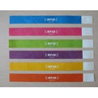 Buy cheap RFID Paper Wristband Tag product
