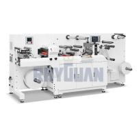 Buy cheap TOP-330PLUS Flexo press with semi-rotary Die cutter product
