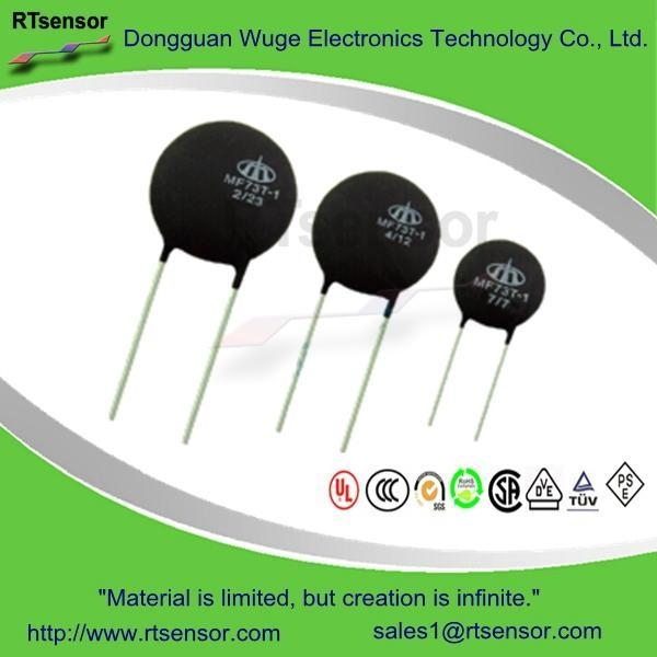 China MF73T-1 High Power Inrush Current Limiter , Power NTC Thermistor