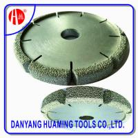 Buy cheap HM35 Vacuum Brazed Diamond Dry Cutting Saw Blade For Sandstone product