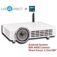 China AODIN DLP-1000 Fisheye Short Focus Android 3D 1080p HD Smart Projector LED DLP Projector on sale