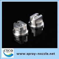 Buy cheap Stainless steel flat fan spray nozzle tips product
