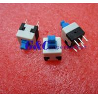 Buy cheap 20PCS 8X8mm Blue Cap Self-locking Type Square Button Switch NEW GOOD QUALITY SW1 product