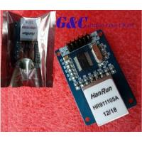 Buy cheap ENC28J60 Ethernet LAN Network Module Schematic For Arduino 51AVR STM32 product