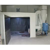 Buy cheap Industrial Sand Blasting Booths with Dust Removal System (Q26) product