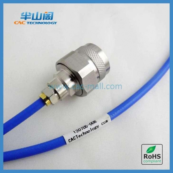 Flexible Rf Cable Assembly : Ghz sma rf flexible testing cable assembly ss