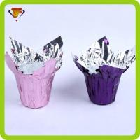 Buy cheap flower pot covers plastic Foil Laminated Flower Pot Cover JFSJ498 from wholesalers