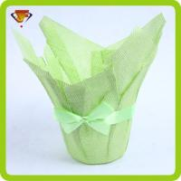 Buy cheap Paper Weave Flower Pot Cover/burlap Pot Cover JFSJ222 from wholesalers