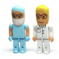Buy cheap doctor shape usb flash drive ABS usb memory disk robot usb flash memory from wholesalers