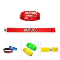 Buy cheap High Performance Worth Buying Silicon Wristband Cheap Bracelet Usb Flash Drive from wholesalers