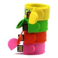 Buy cheap Slap Silicone Bracelet USB Flash Drives product