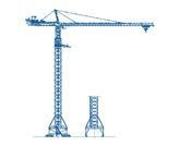Quality M-Series tower crane for sale