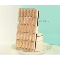 Buy cheap 2013 New Style Crystal Bling Leather Case for Apple iPhone 4/4S product