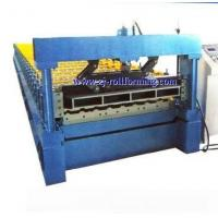 Buy cheap LSYX 16.5-135-1100 Steel tile forming machine product