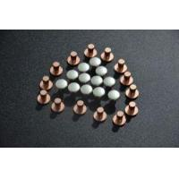 Buy cheap High Electrical Resistivity Bimetal Contact Rivets For Aviation Appliances product
