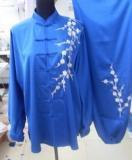 Buy cheap Refined Chinese Martial Art Clothing Suit/ Navy Blue product