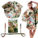 Buy cheap Chinese Lace-up Lotus Satinlike Silk Queen-size Pajama product