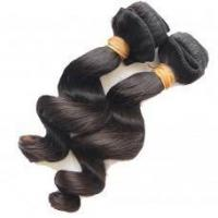 Buy cheap Top Quality Loose wave Malaysian virgin hair weave in Natural color product