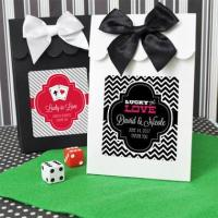 China Casino Party Favor Bags Candy Boxes (Set of 12) on sale