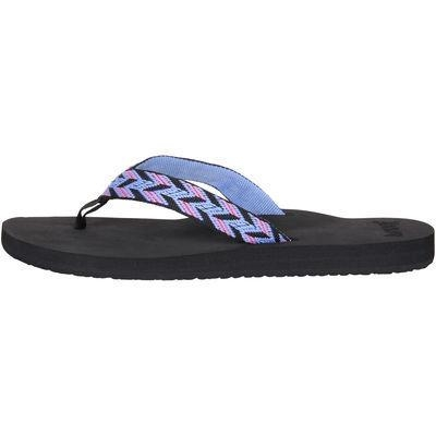 Quality Juniors Reef Black Mid Seas Flip Flops for sale