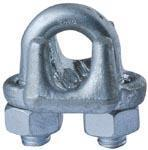 Buy cheap China U.S. Type Drop Forged Wire Rope Clips Manufacturer ,Supplier - Lifting Rigging Factory product