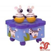Buy cheap Musical toys Wooden Rotating Music Box Model No.: SY15018 product